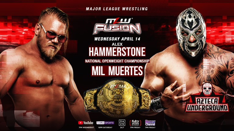 """Hammerstone Says MLW Title Vs. Title Match Against Jacob Fatu Is """"Imminent"""""""