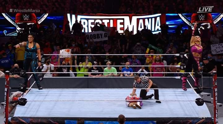 New Title Match Revealed For WrestleMania 37 After Tag Team Turmoil On Night One