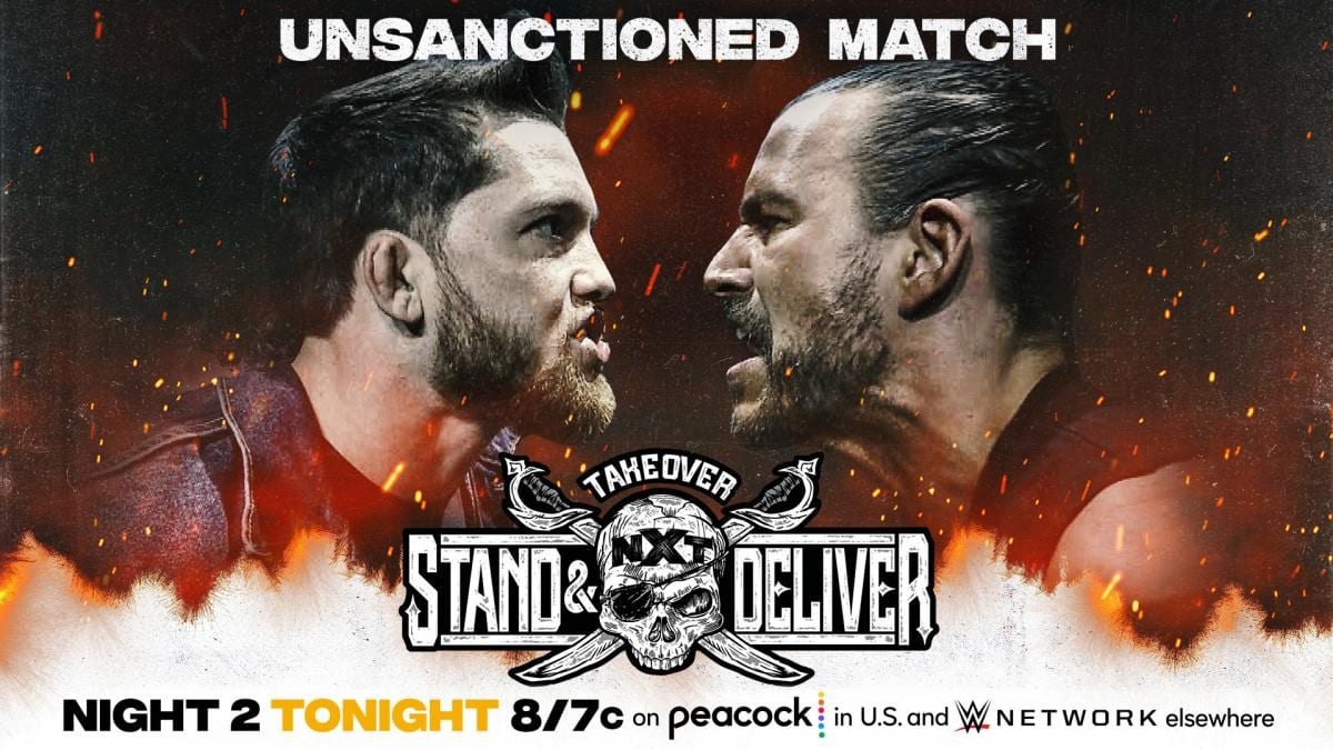 """WWE NXT Preview For Tonight: Night Two Of """"Takeover: Stand And Deliver"""""""