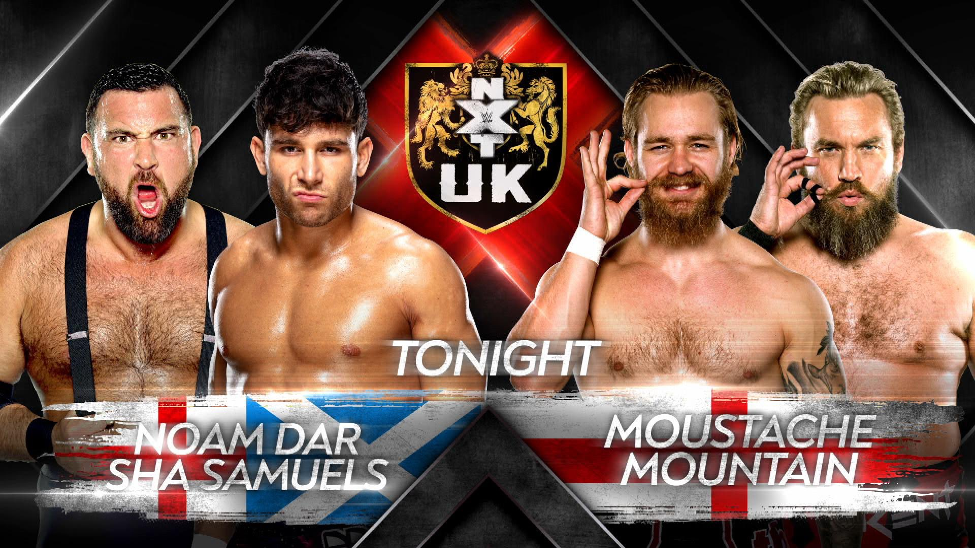 WWE NXT UK Results (4/22): Moustache Mountain Reunite, Joe Coffey Vs. Eddie Dennis, More