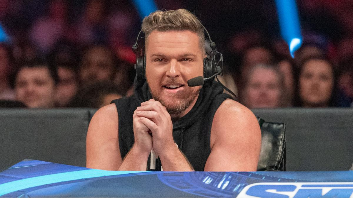 """Pat McAfee Explains """"Piss Missile"""" Viral Term From WWE Hell In A Cell"""