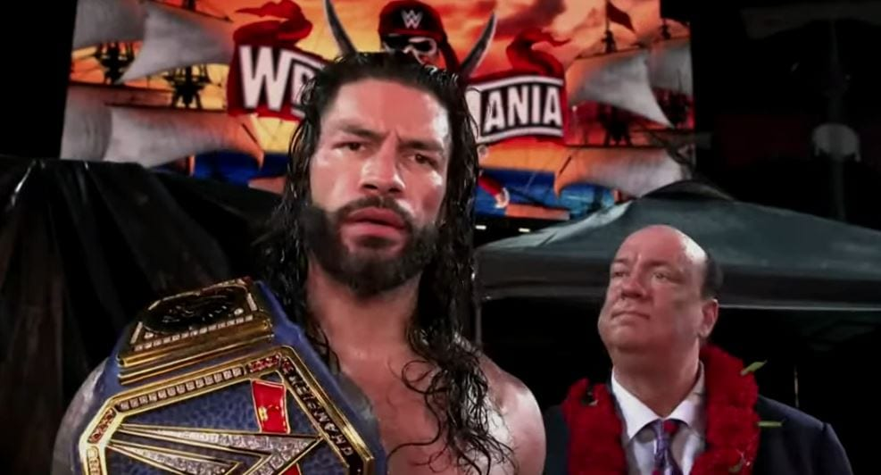 Roman Reigns On Dominating In The Finish To His Match At WrestleMania 37 Night Two