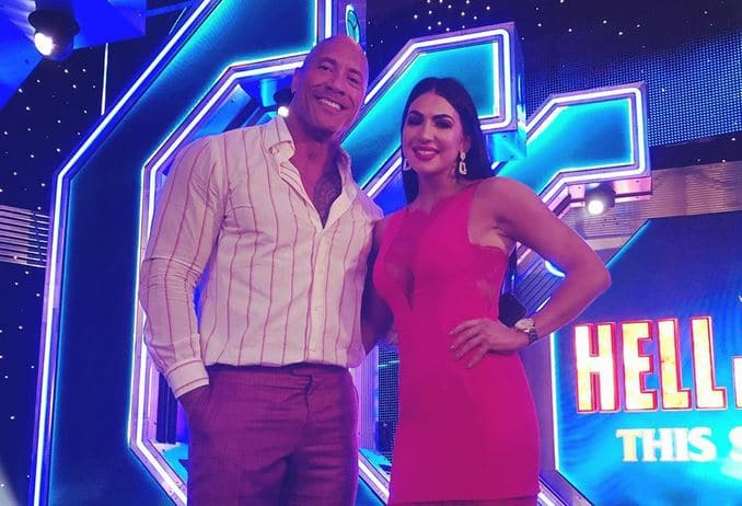 The Rock Sends WrestleMania 37 Words Of Encouragement To Billie Kay