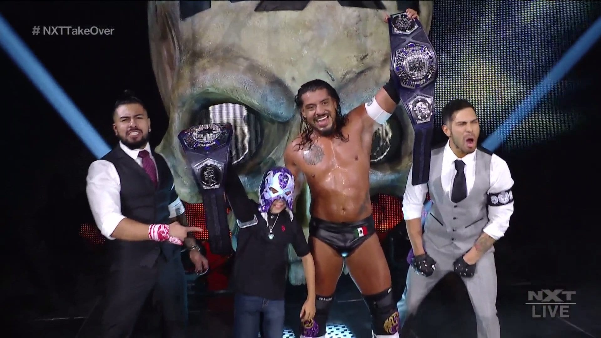 """Undisputed WWE NXT Cruiserweight Champion Crowned At """"Takeover: Stand & Deliver"""" Night Two"""