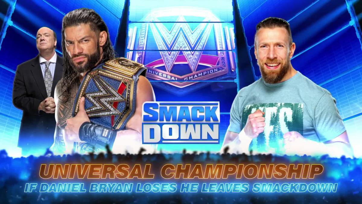 WWE SmackDown Preview For Tonight: Two Big Title Matches