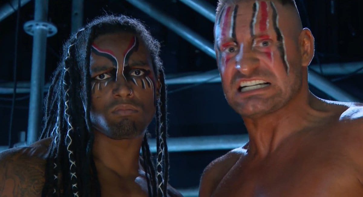 MACE And T-BAR Debut Face Paint On RAW
