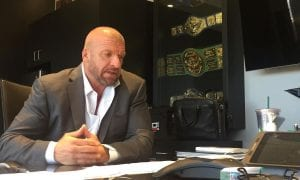 Triple H Recalls Working His First WWE Match While Under WCW Non-Compete