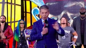 Vince McMahon Opens WrestleMania 37, Weather Delays The First Match, Kickoff Video