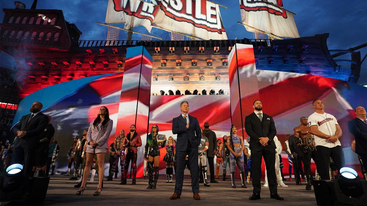WWE Announces More Than 25,000 Fans For Night One Of WrestleMania 37