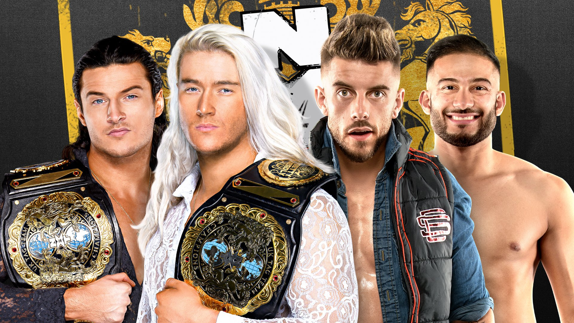 WWE NXT UK Results (4/1): Pretty Deadly Defend Their Titles, WALTER/Rampage Brown Sit Down