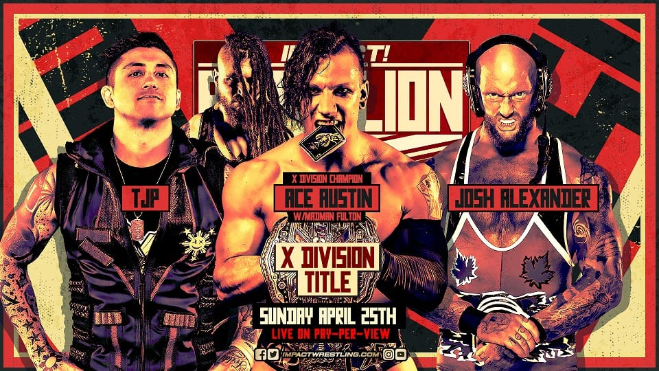 New X Division Champion Crowned At Impact Rebellion