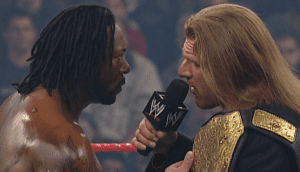 """Controversial Booker T – Triple H Segment Pulled From A&E's """"Biography"""""""