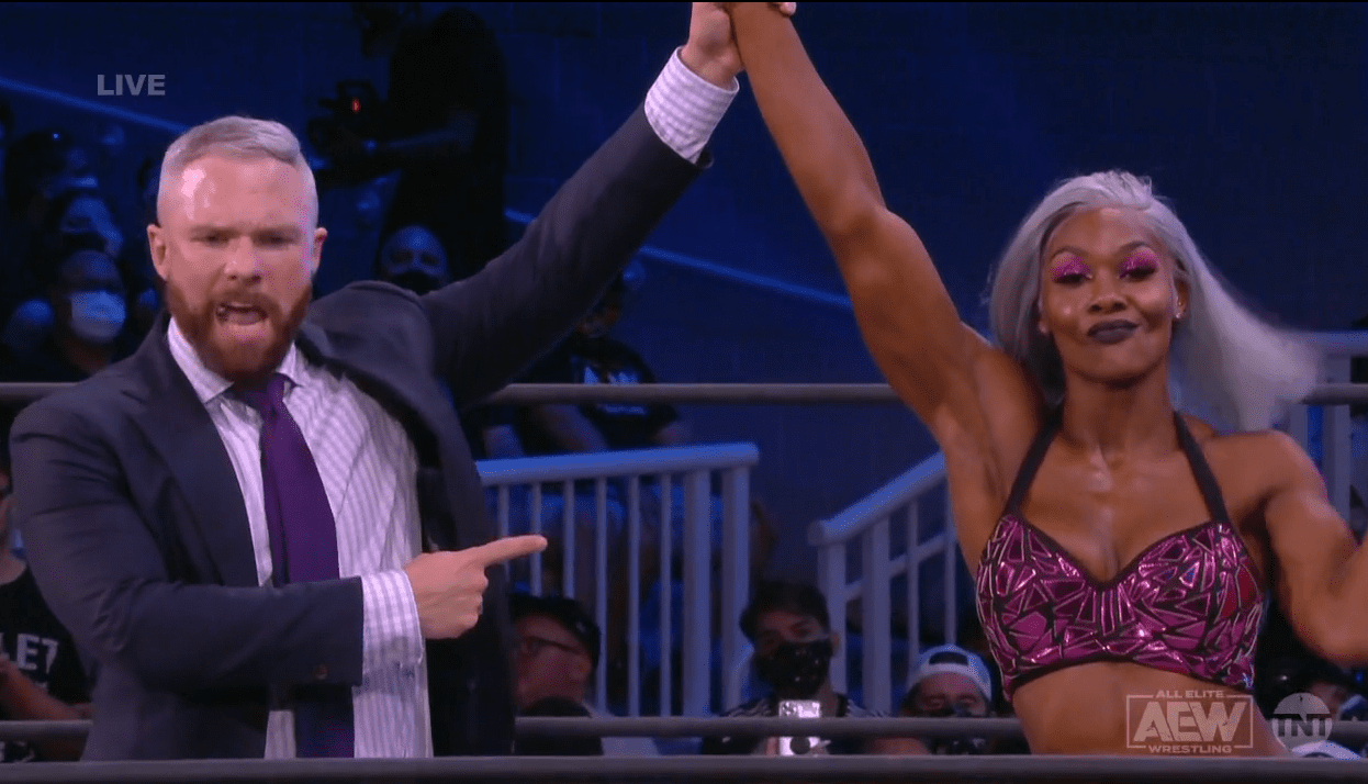 AEW Star Working With A New Manager