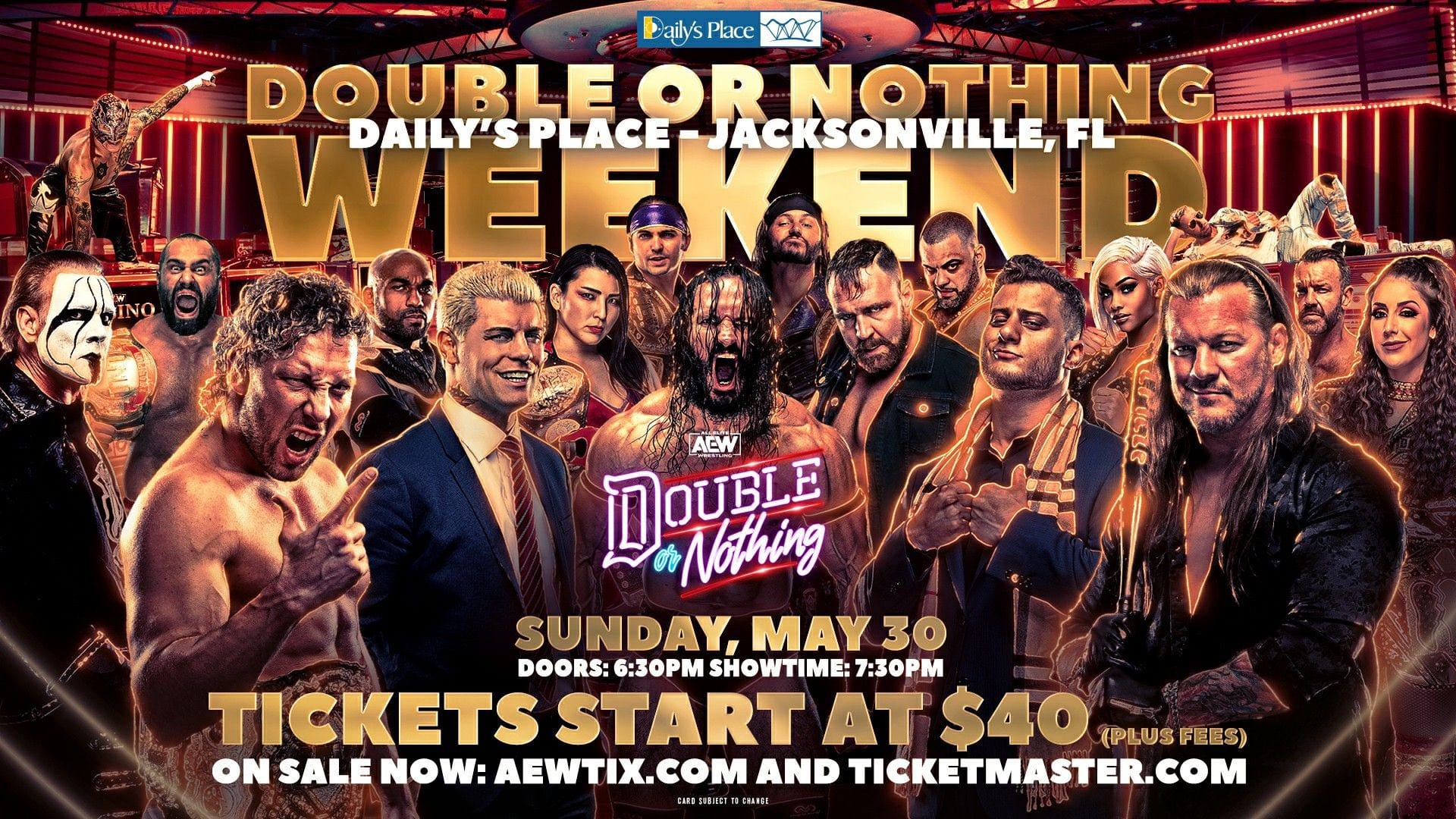 Update On AEW Double Or Nothing Ticket Sales