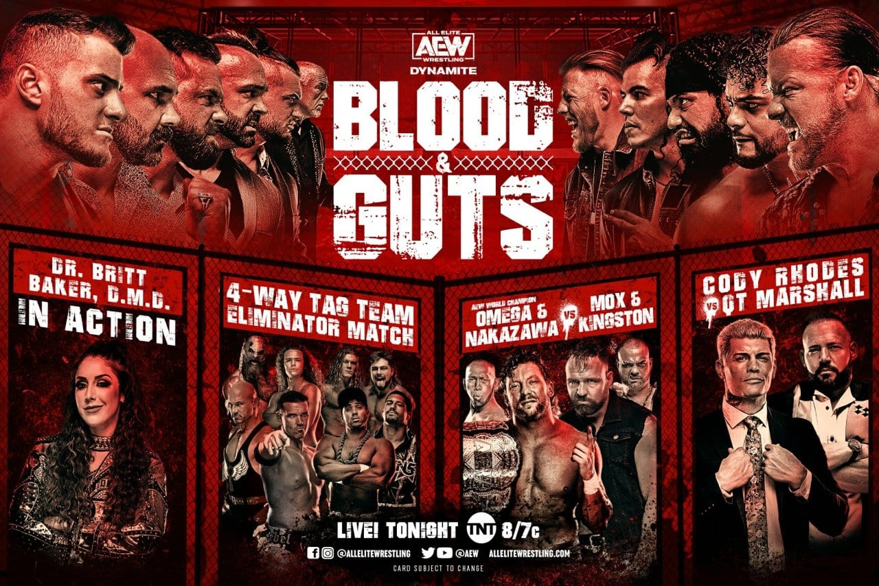 AEW Dynamite Results: Blood And Guts Match