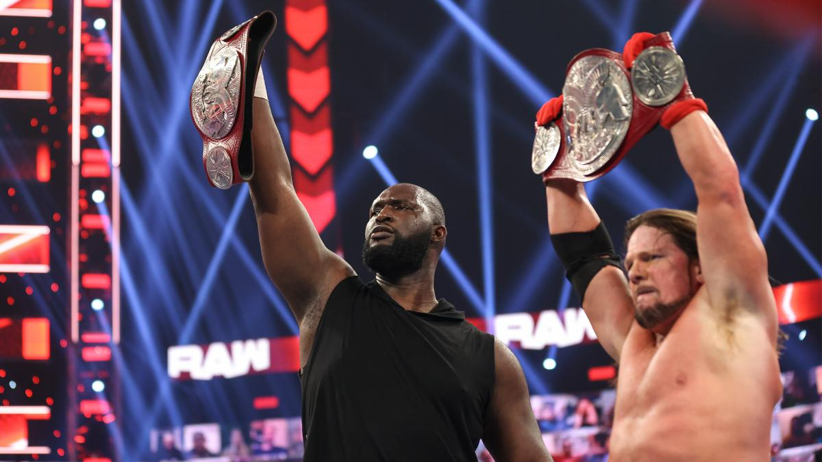 WWE Tag Title Match Official, Omos To Make RAW Singles Debut