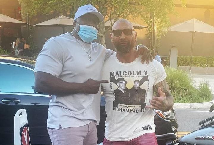 Bobby Lashley And Batista Meet Up, Lashley On A Possible Match Between The Two