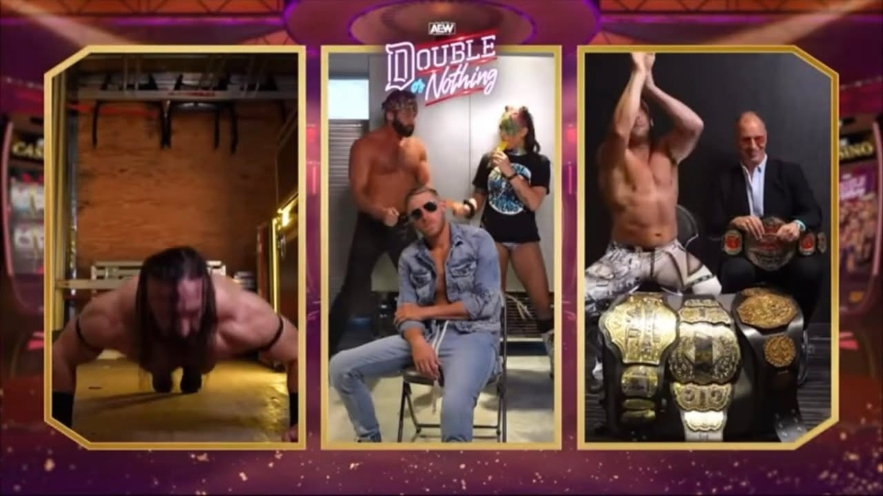 Backstage At AEW Double Or Nothing (Being The Elite Recap)