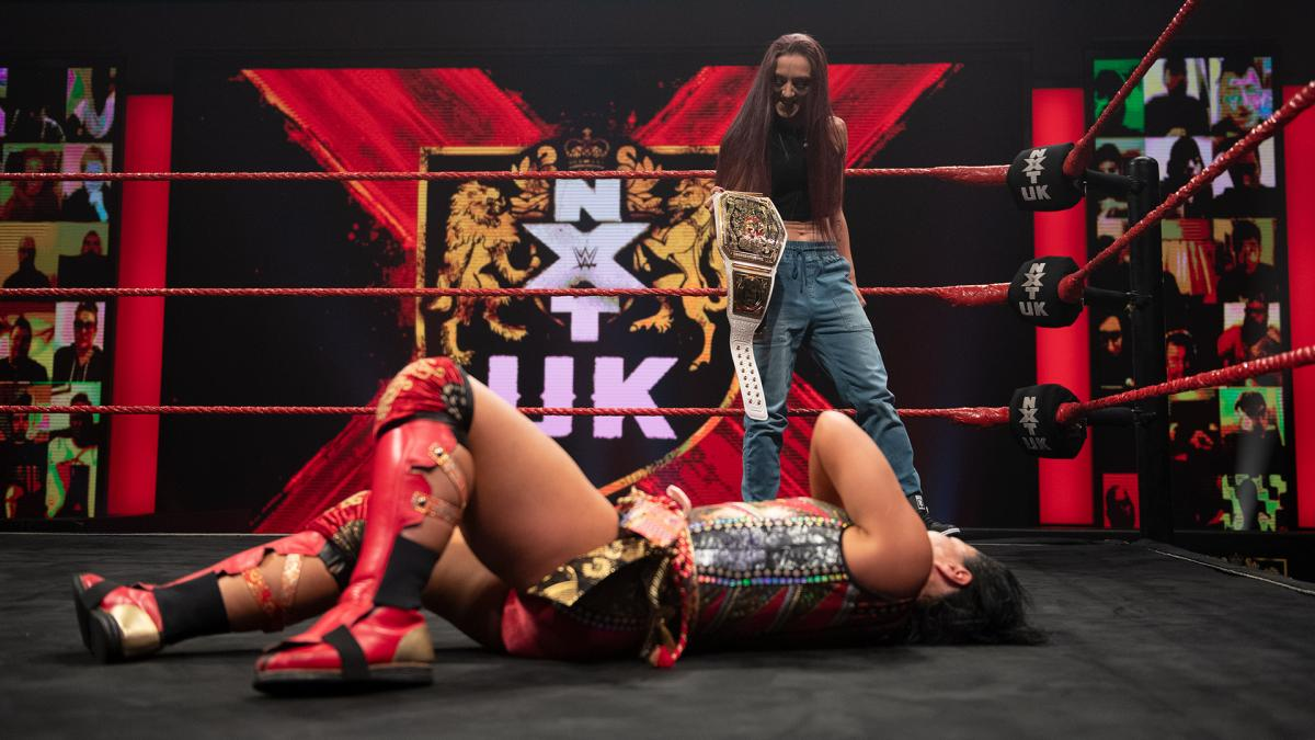 WWE NXT UK Women's Title Match Announced, Two More NXT UK Rematches Set