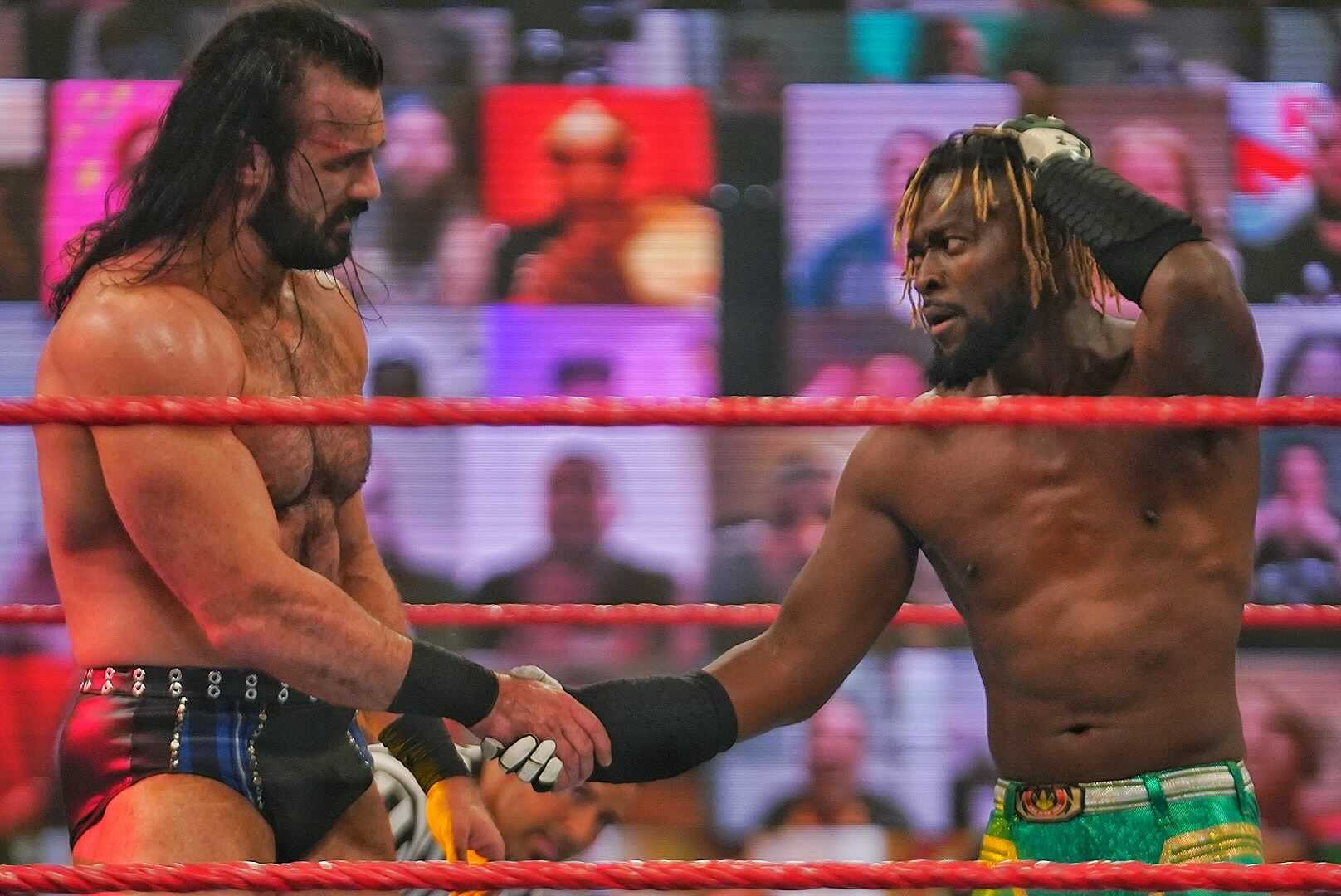 Backstage RAW Main Event Reactions, Drew McIntyre Receives Shiner, Bobby Lashley Comments