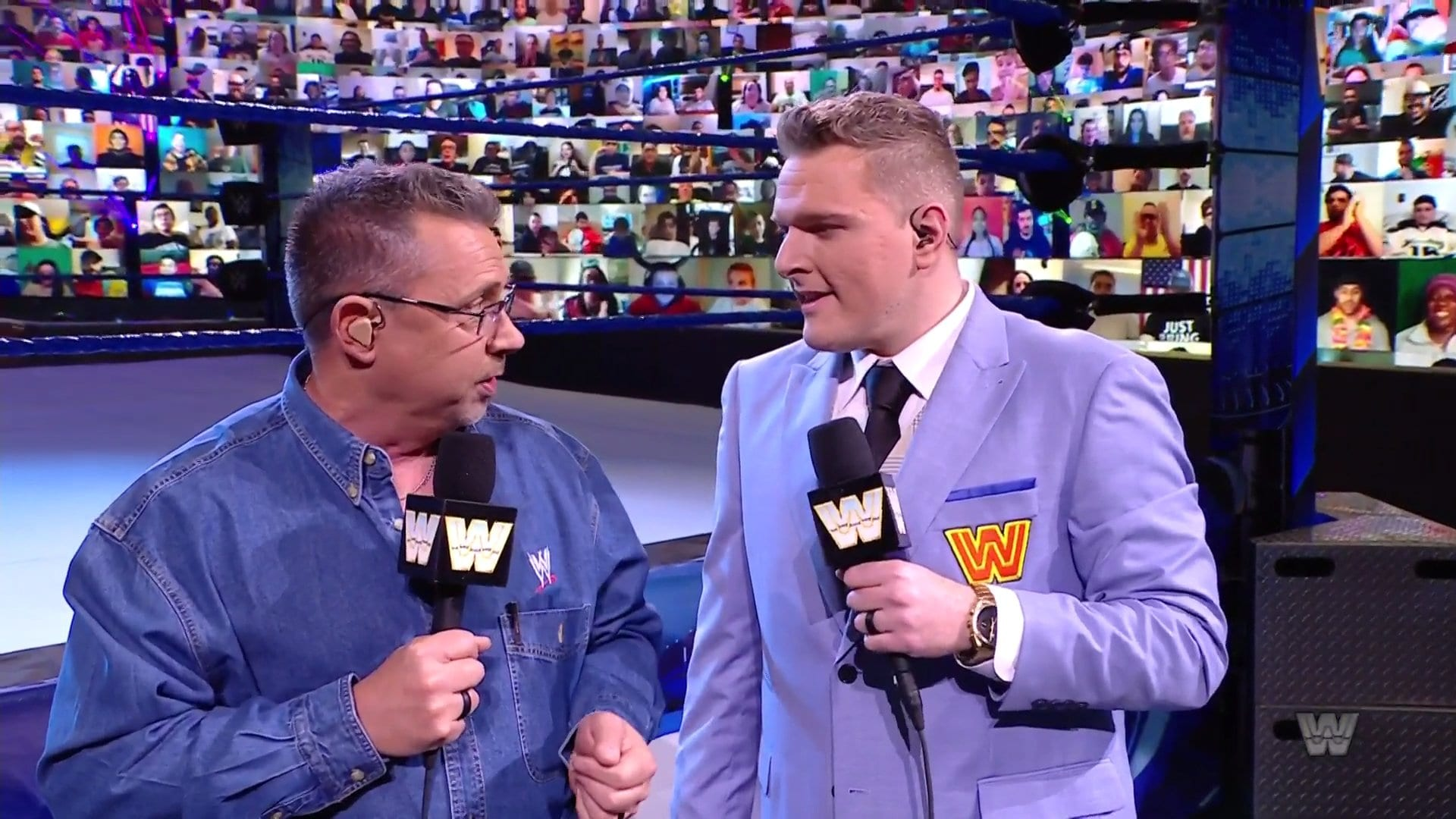 Why WWE Held A Throwback SmackDown, Pat McAfee's Vince McMahon Look, More From The Show