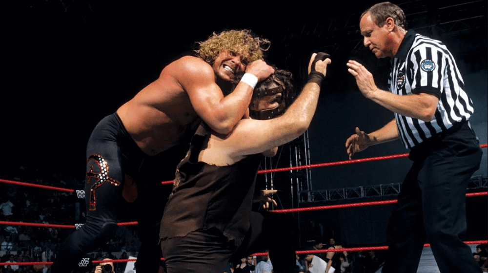 """Mick Foley Says Brian Pillman Dark Side Of The Ring """"Hit Me Hard"""""""