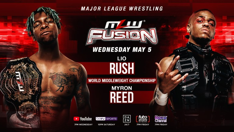 MLW Fusion Preview (5/5): Lio Rush Vs. Myron Reed II, Richard Holliday In Action, More