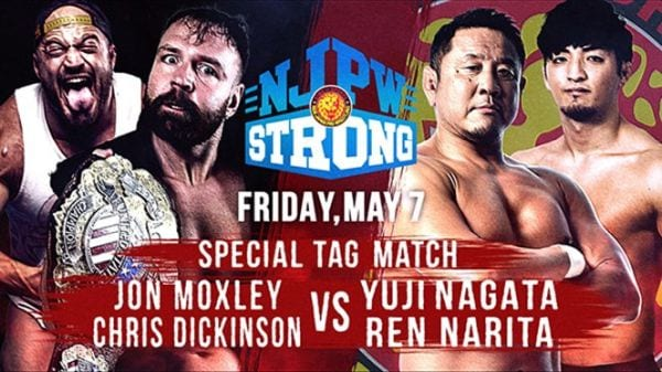 Jon Moxley In Action On NJPW Strong