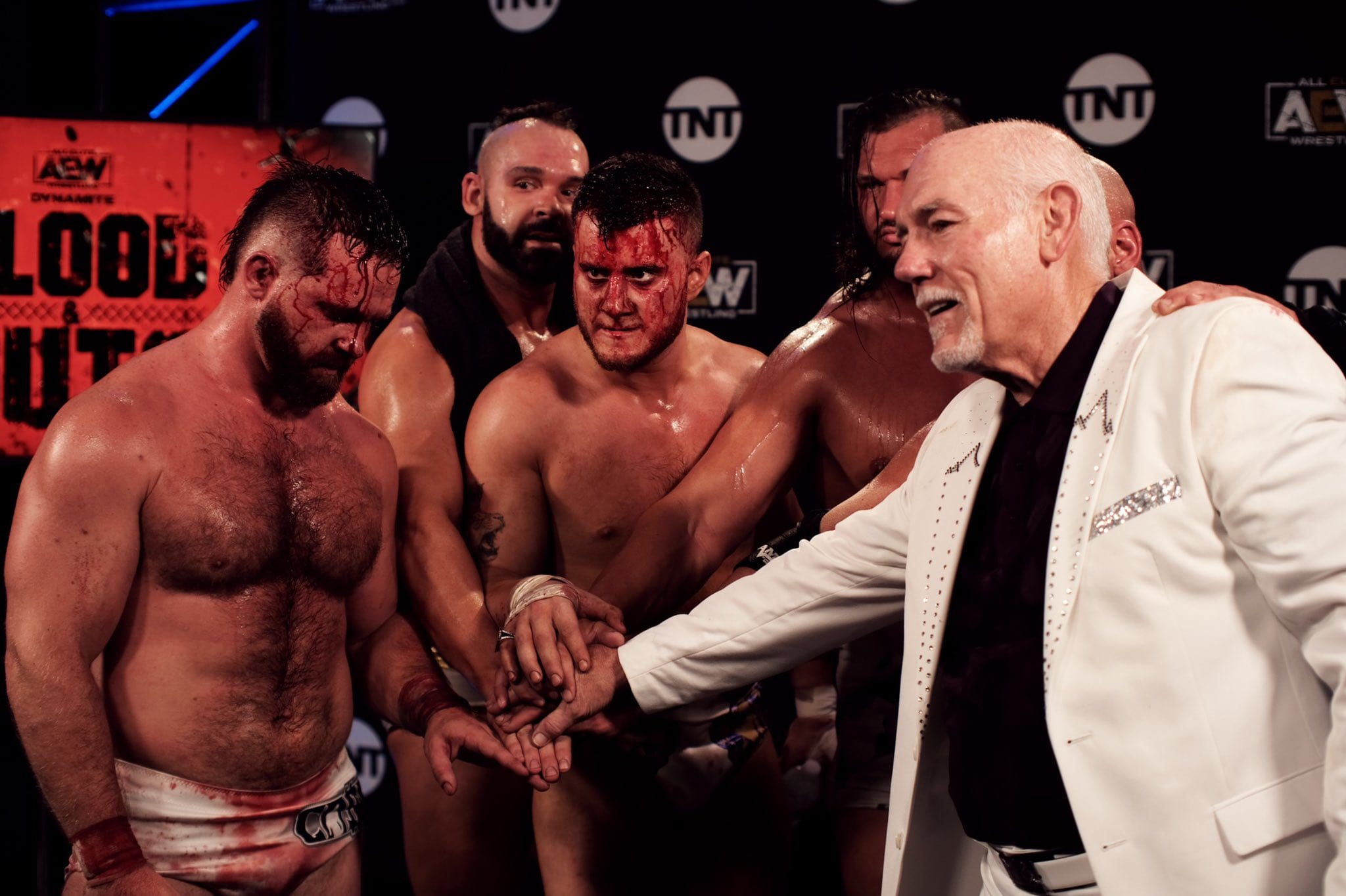 AEW Star Posts Graphic Photo From Blood & Guts, Notes On Injuries