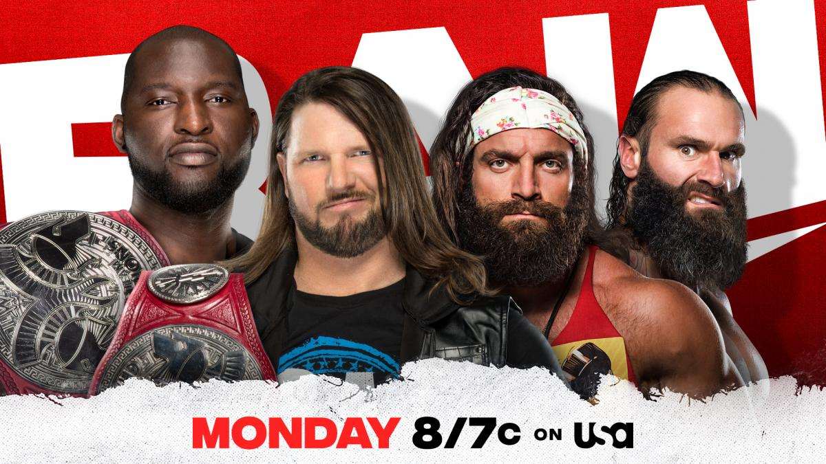 WWE RAW Preview For Tonight: WWE Title Shot Up For Grabs, The Miz Returns, More