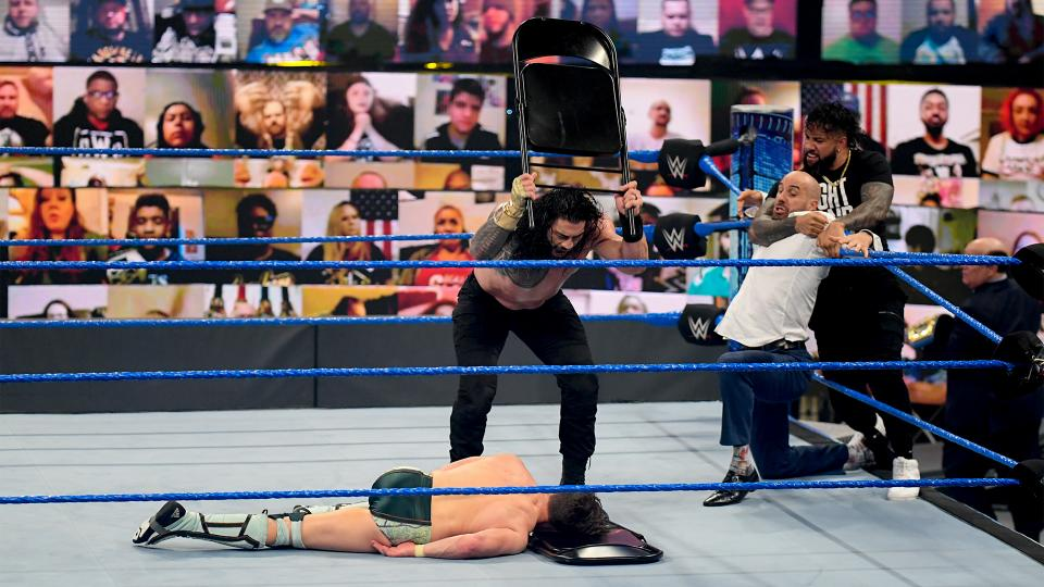 WWE SmackDown Final Viewership Down For Career Vs. Title Match With NFL Draft Competition