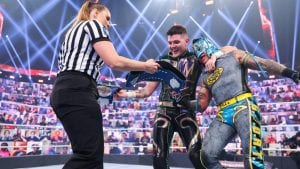 Rey Mysterio Reveals Nixed Plans For Him To Wrestle Son Dominik