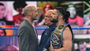 Roman Reigns Sends Message To Cesaro Before WrestleMania Backlash