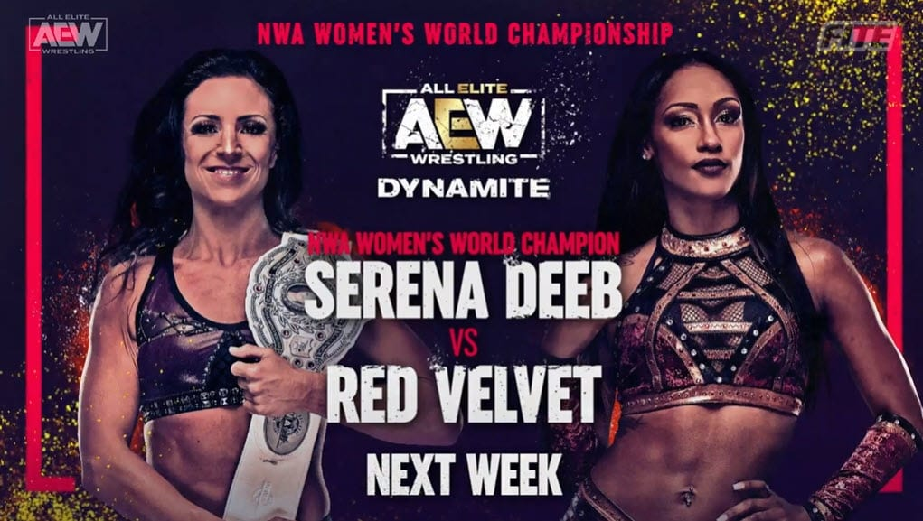 Two Title Matches Announced For Next Week's AEW Dynamite
