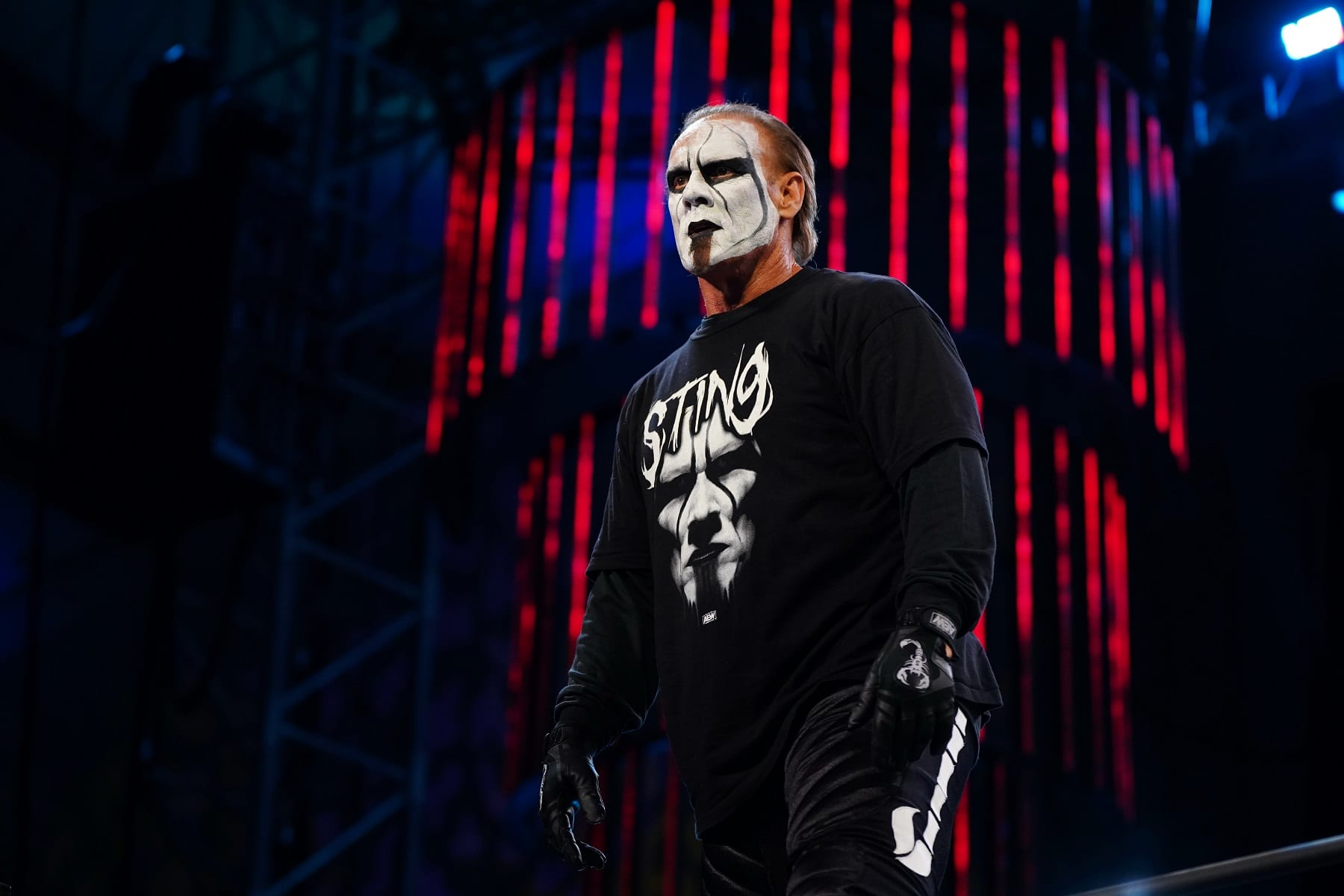 Sting Wrestles First In-Ring Match In Six Years At AEW Double Or Nothing