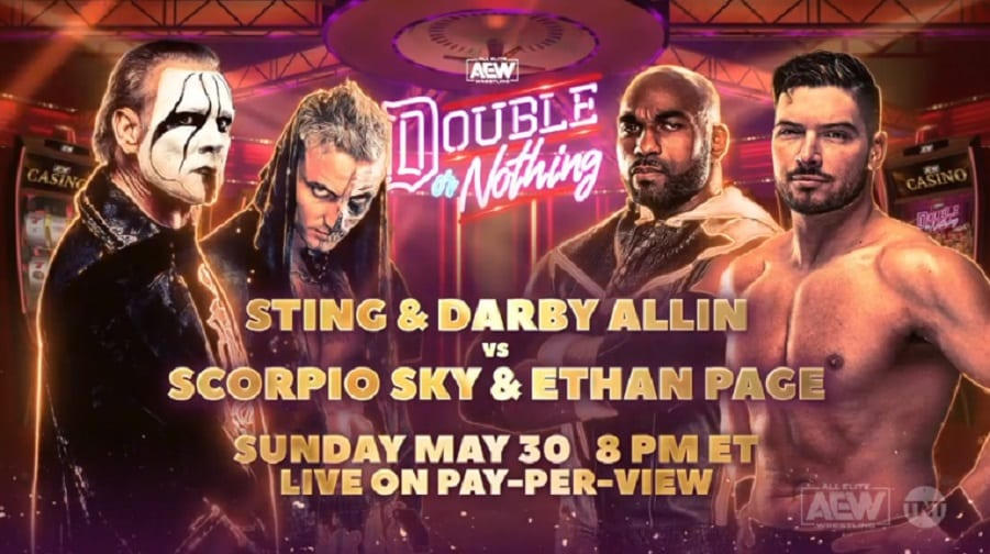 Sting On How He's Preparing For His In-Ring Return At AEW's Double Or Nothing