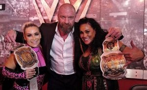 Photo: Triple H Congratulates Natalya And Tamina Snuka