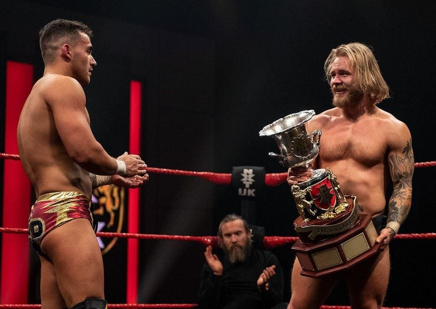 New WWE NXT UK Heritage Cup Champion Crowned