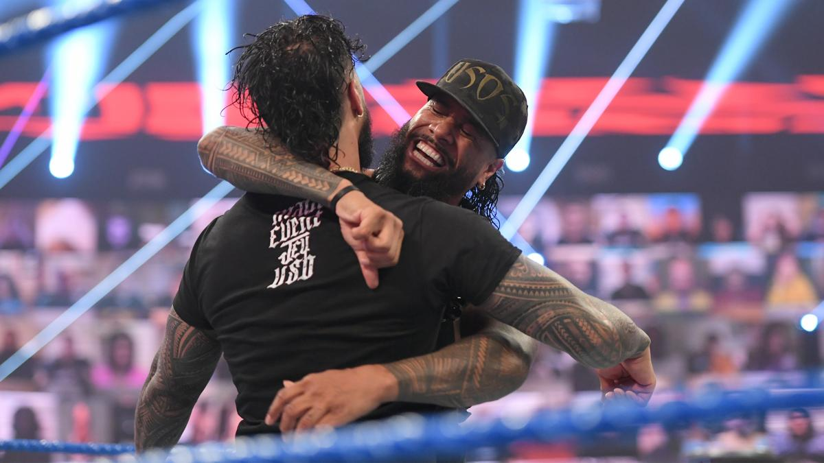The Usos Returning To The Ring Together On Next Week's WWE SmackDown