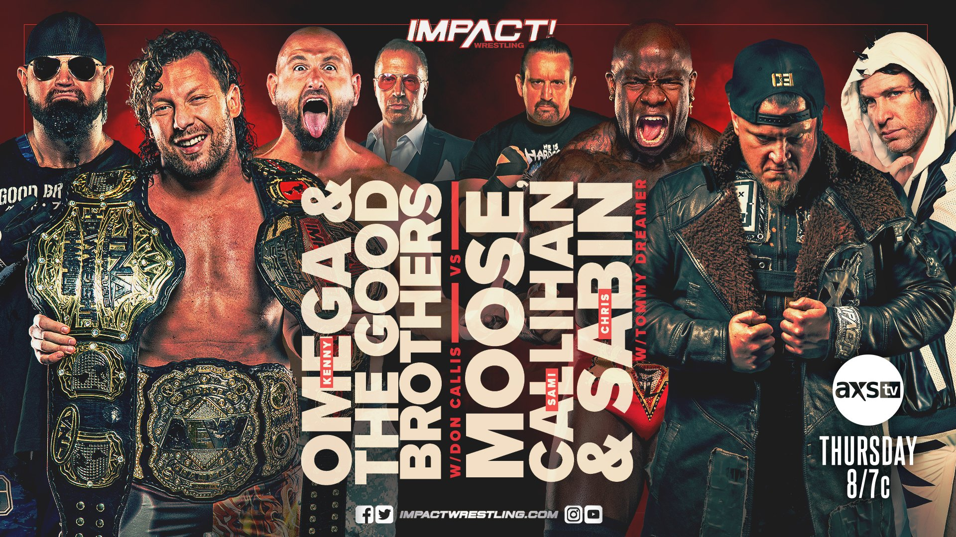 Kenny Omega Set For Action In A Six-man Tag Team Matchup Next Week On Impact