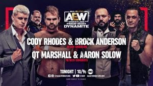 Arn Anderson's Son Brock Makes In-Ring Debut On AEW Dynamite