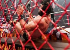 Video: Hand Spotted Under The Ring During The WWE Hell In A Cell Main Event