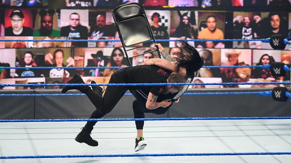 WWE SmackDown Results – Hell In A Cell Fallout, Jimmy Uso Vs. Dolph Ziggler, More