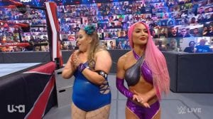 Eva Marie Returns To WWE RAW With Piper Niven