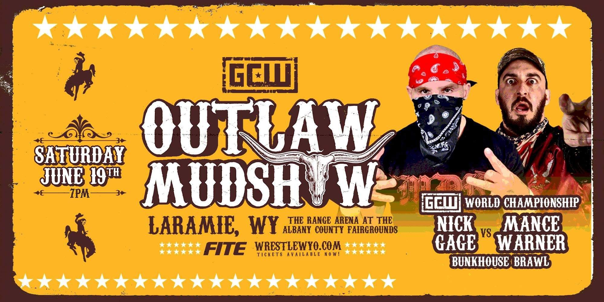 Police Show Up To GCW Outlaw Mudshow Event