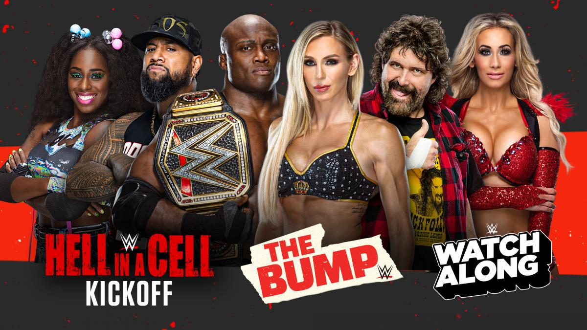 WWE Announces Hell In A Cell Sunday Programming
