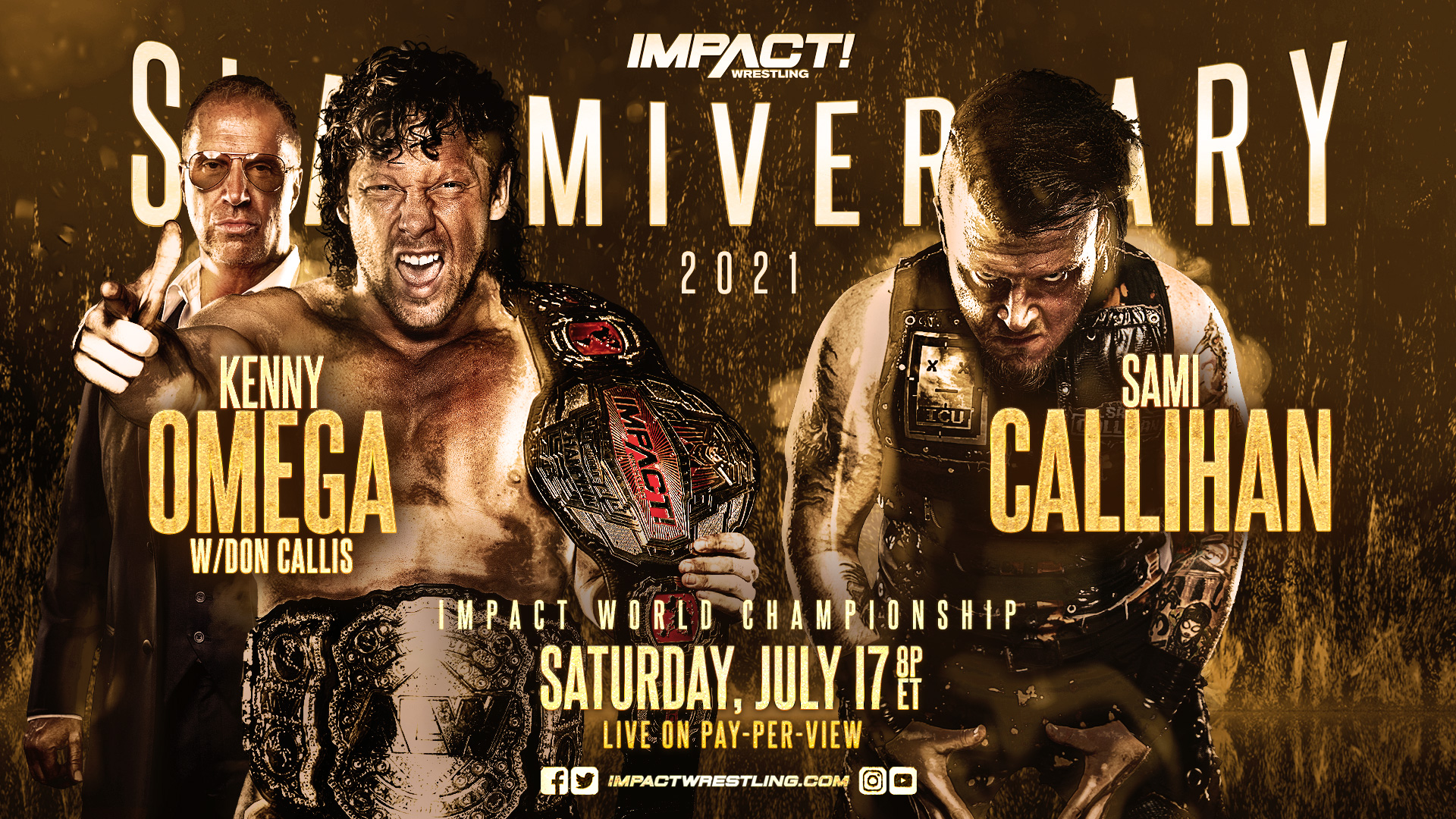 """Impact Wrestling Officially Announces The Main Event For """"Slammiversary"""""""