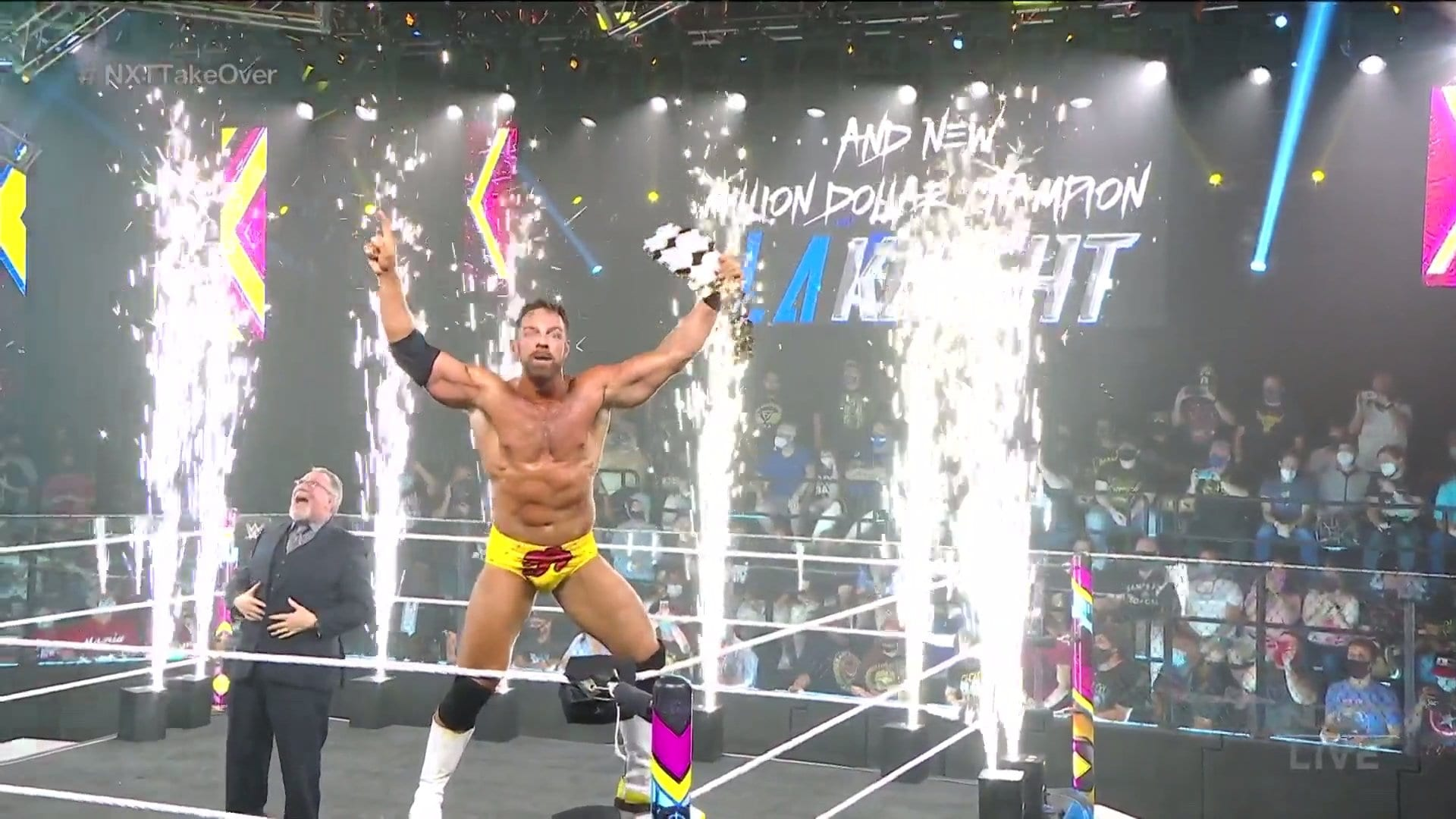 """Million Dollar Champion Crowned At WWE NXT """"Takeover: In Your House"""""""