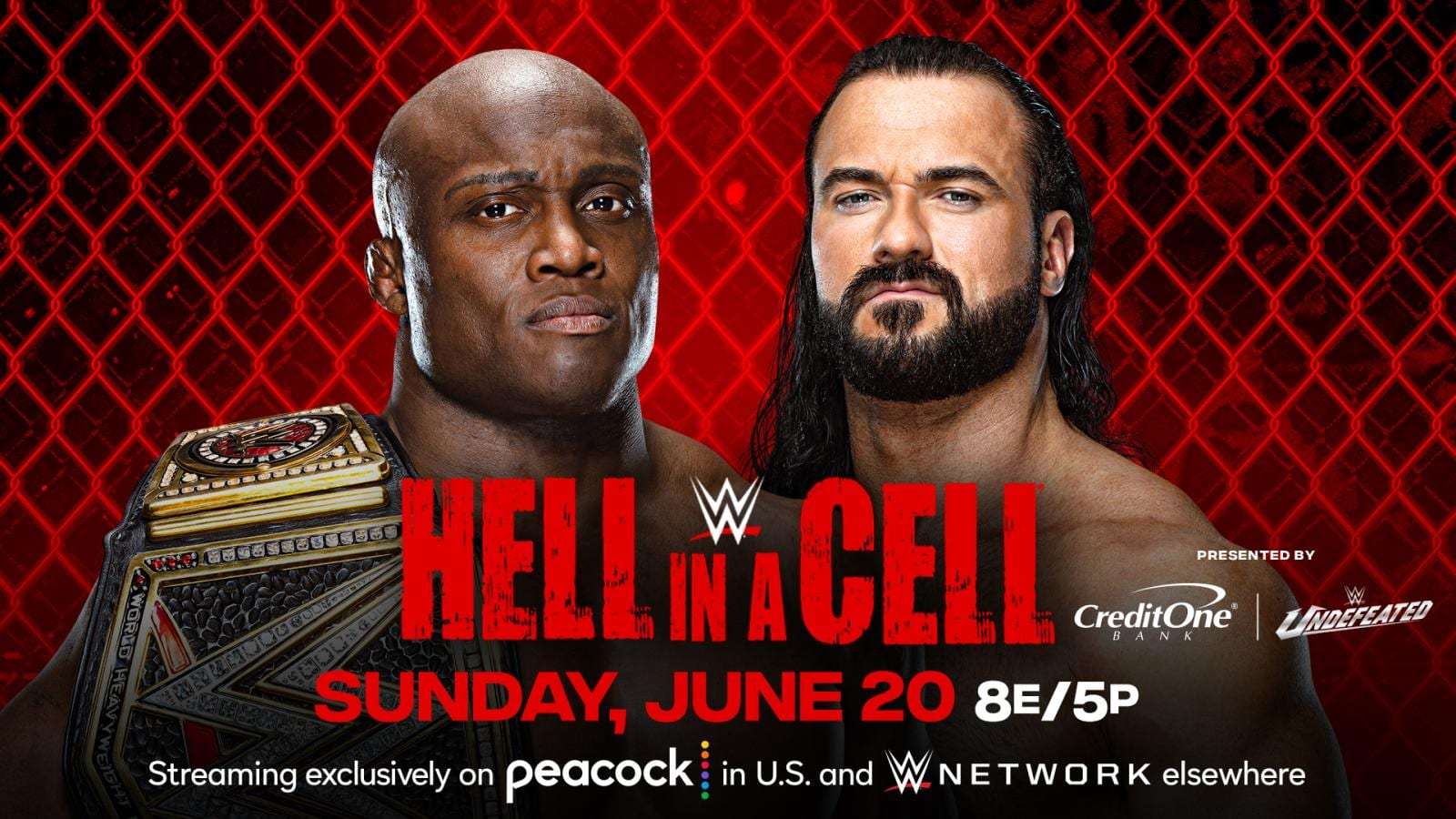 Drew McIntyre Vs Bobby Lashley Now A Hell In A Cell Match
