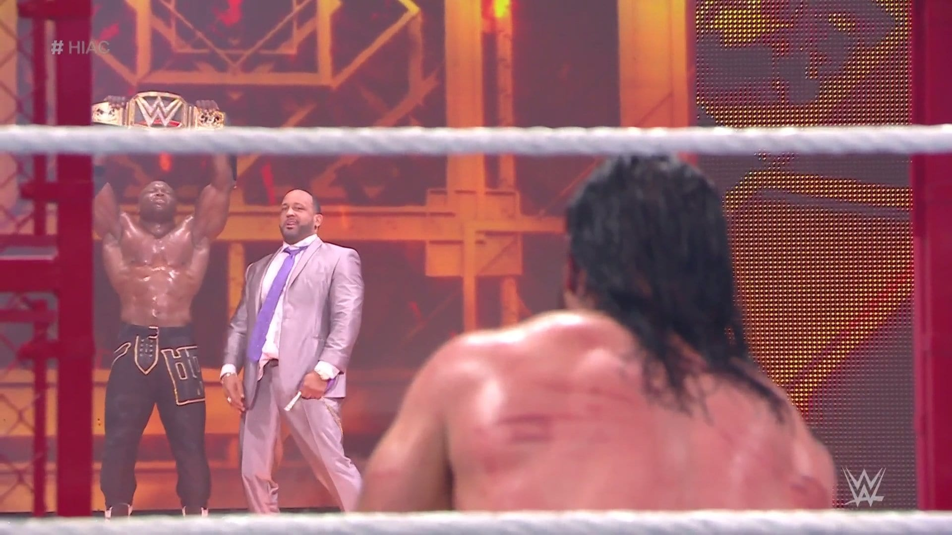 WWE Hell In A Cell: Drew McIntyre Vs. Bobby Lashley (Hell In A Cell – WWE Title)